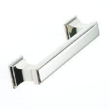 Armac Jefferson Cabinet Handle 102mm Centres Polished Nickel
