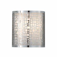 Feiss Joplin Wall Light Polished Chrome