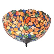 Interiors 1900 Josette Tiffany Medium Flush Light 70720