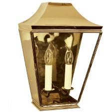 Knightsbrigde Half Large Lantern Polished Brass