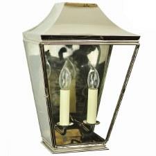 Knightsbrigde Half Large Lantern Polished Nickel