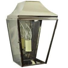 Knightsbrigde Half Small Lantern Polished Nickel