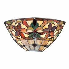 Quoizel Kami Tiffany Wall Uplighter Vintage Bronze