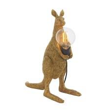 Kangaroo Table Lamp Vintage Gold