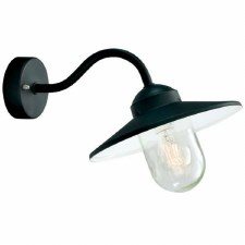 Elstead Karlstad Outdoor Wall Light Black