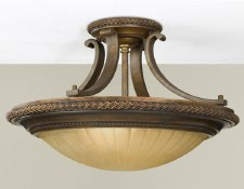 Feiss Kelham Hall Semi Flush Ceiling Light