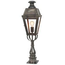 Kensington Tall Pillar Lamp Antique Brass