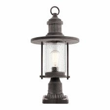 Elstead Riverwood Pedestal Lantern