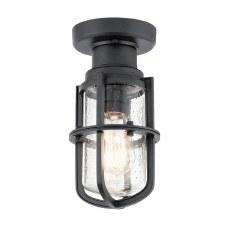 Kichler Suri Coastal Lantern Black
