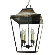 Knightsbridge Hanging Pendant Large Lantern Light Antique