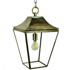 Knightsbridge Hanging Pendant Medium Lantern Light Antique