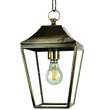 Knightsbridge Hanging Pendant Small Lantern Light Antique