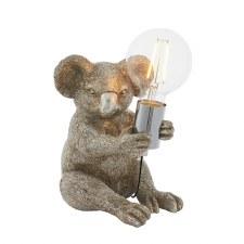 Koala Table Lamp Vintage Silver