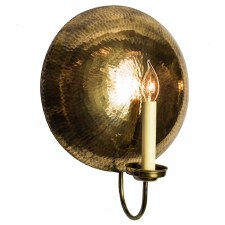 La Luna Wall Light Sconce Large - Light Antique Brass