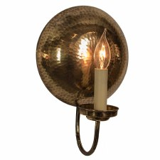 La Luna Wall Light Sconce Small - Light Antique Brass