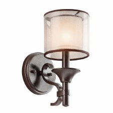 Kichler Lacey Wall Light Mission Bronze