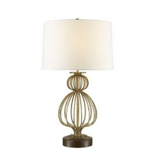 Gilded Nola Lafitte Table Lamp Gold