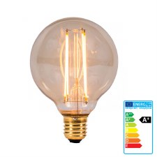 Vintage Style LED Globe Light Bulb ES 4W