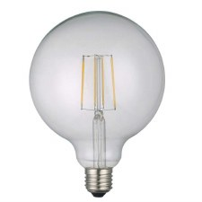 Large Globe Bulb ES/E27 6W LED Dimmable