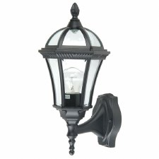 Elstead Ledbury Outdoor Wall Light Lantern Black