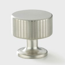 Armac Leebank Cupboard Door Knob Polished Nickel