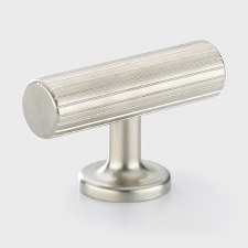Armac Leebank Cupboard Door T Bar Handle Polished Nickel