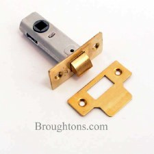"Legge Mortice Door Latch 2.1/2"" Brass"