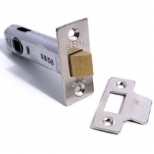 "Legge Mortice Door Latch 3"" Nickel"