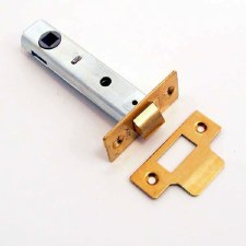 "Legge Mortice Door Latch 3.3/4"" Brass"