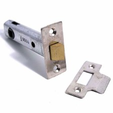 "Legge Mortice Door Latch 3.3/4"" Nickel"