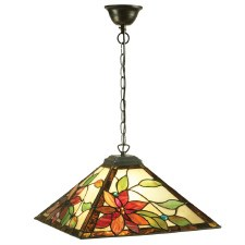 Interiors 1900 Lelani Medium Tiffany Ceiling Light Pendant