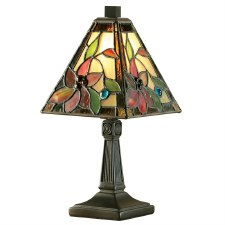 Interiors 1900 Lelani Mini Tiffany Table Lamp