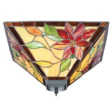 Interiors 1900 Lelani Tiffany Medium Flush Light 70718