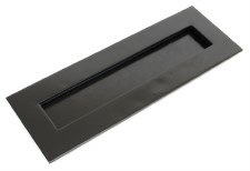 From The Anvil Large Letter Plate Black 324mm