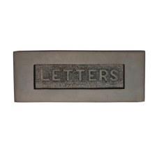Heritage Letter Plate V845 Matt Bronze