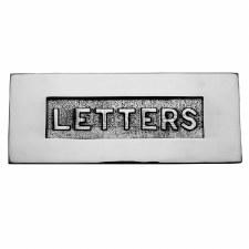 Heritage Letter Plate V845 Polished Chrome