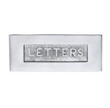 Heritage Letter Plate V845 Satin Chrome