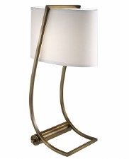 Feiss Lex Desk Lamp Bronzed with USB Port