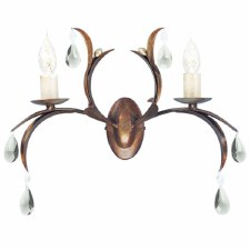 Elstead Lily Double Wall Light