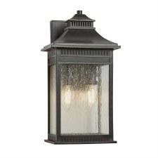 Quoizel Livington Outdoor Wall Lantern Medium Imperial Bronze