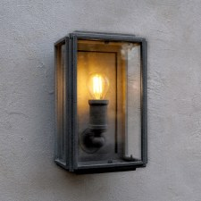 London Mini Coach Lamp Black