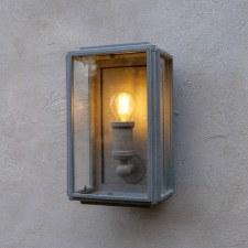 London Mini Coach Lamp Zinc