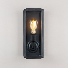 London Wall Lamp Slim Black