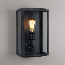 London Wall Lamp Wide Black