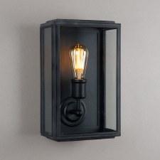 London Wall Lamp Wide Black