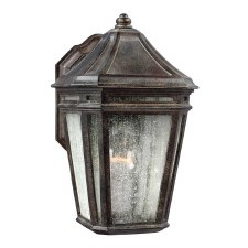 Feiss Londontowne Outdoor Wall Lantern Weathered Chestnut