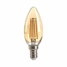 Amber Candle LED E14 Bulb