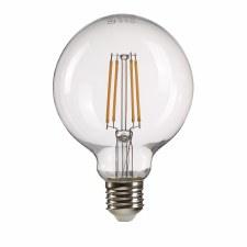 Clear Globe LED E27 Bulb