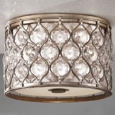 Feiss Lucia Flush Ceiling Light