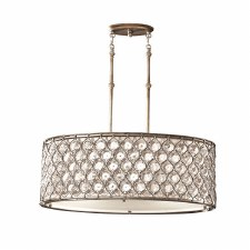 Feiss Lucia Oval Ceiling Pendant Chandelier